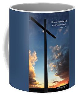 Isaiah 53-5 Coffee Mug