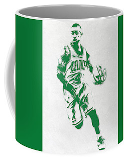 Isaiah Thomas Boston Celtics Pixel Art 2 Coffee Mug