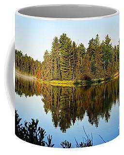Island At Dawn Coffee Mug