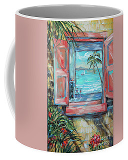 Island Bar Coral Coffee Mug