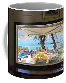 Island Bar View Coffee Mug