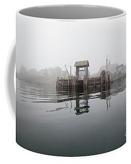 Island Boat Dock Coffee Mug