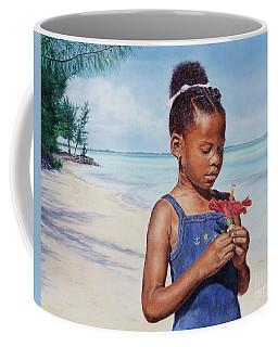 Island Flowers Coffee Mug