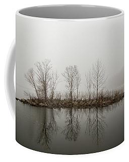 Island In The Fog Coffee Mug