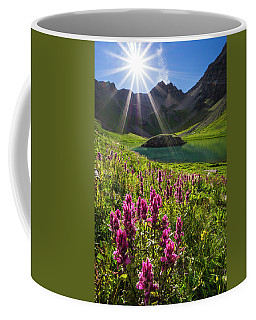 Island Lake Flowers Coffee Mug