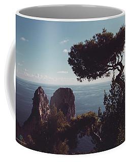 Island Of Capri - Italy Coffee Mug by Cesare Bargiggia