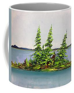 Island Of Firs Coffee Mug