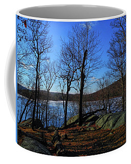 Island Pond In Harriman State Park Along The Appalachian Trail Coffee Mug by Raymond Salani III