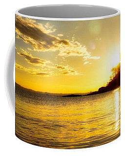 Island Sunset Coffee Mug