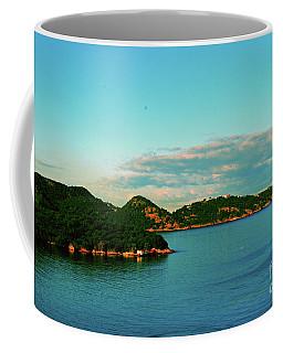 Island Sunset Coffee Mug by Gary Wonning