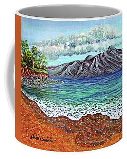Island Time Coffee Mug by Debbie Chamberlin