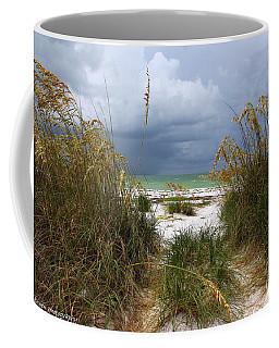 Island Trail Out To The Beach Coffee Mug