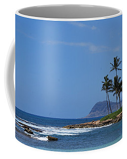 Coffee Mug featuring the photograph Island View by Amee Cave