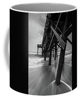 Isle Of Palms Pier Water In Motion Coffee Mug