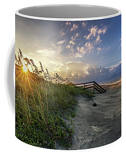 Isle Of Palms Sunstar Coffee Mug