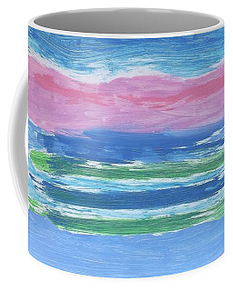 Coffee Mug featuring the painting Isles  by Don Koester