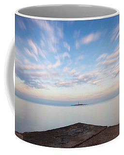 Islet Baraban With Lighthouse Coffee Mug