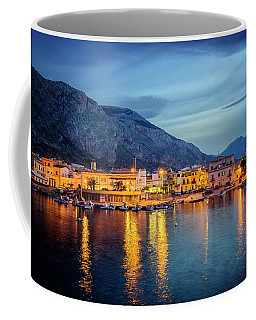 Isola Delle Femmine Harbour Coffee Mug by Ian Good
