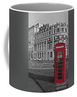 Isolated Phone Box Coffee Mug by Terri Waters
