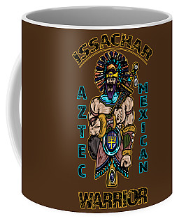 Issachar Aztec Warrior Coffee Mug