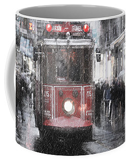 Istambool Historic Tram Coffee Mug