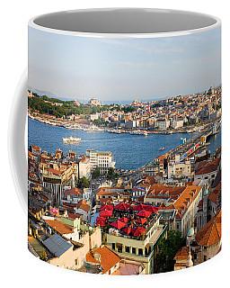 Istanbul Cityscape Coffee Mug