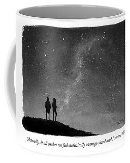 It All Makes Me Feel Statistically Average Coffee Mug