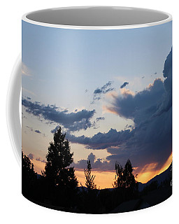 Coffee Mug featuring the photograph It Cometh by Marie Neder