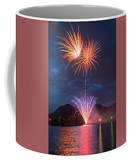 It Crepitates As Soon As It Explodes In Mid Air.  Coffee Mug