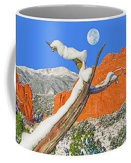 It Doesn't Matter How Many Books You Can Get Through, But Rather, How Many Can Get Through To You.  Coffee Mug