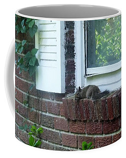 Coffee Mug featuring the photograph It Is Cool Here In The Shade by Denise Fulmer