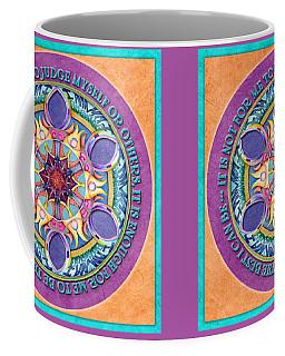 It Is Enough Mandala Prayer Coffee Mug
