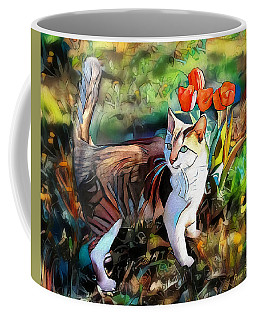 Coffee Mug featuring the digital art It Must Be Spring by Pennie McCracken
