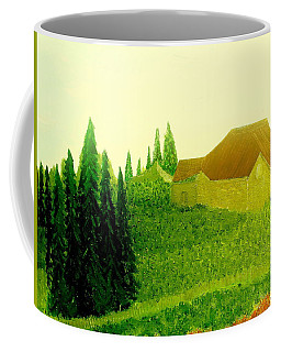 Coffee Mug featuring the painting It Rained And It Rained by Bill OConnor