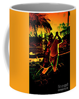 Coffee Mug featuring the photograph It Takes Two To Tango by Al Bourassa