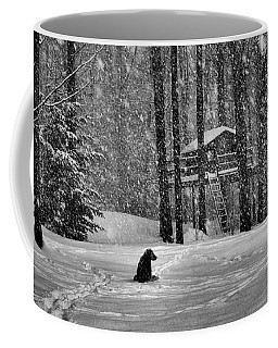 It Was A Dark And Stormy Night Coffee Mug by Elizabeth Dow