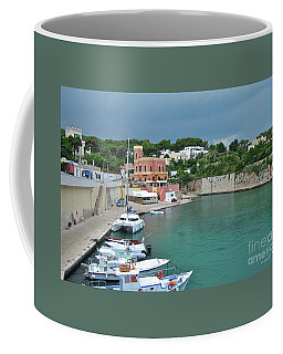 Italian Harbor - Puglia Coffee Mug