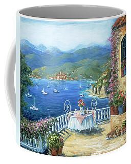 Italian Lunch On The Terrace Coffee Mug