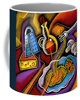 Italian Pasta Coffee Mug