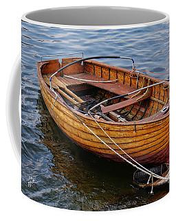 Italian Wooden Dinghy Coffee Mug