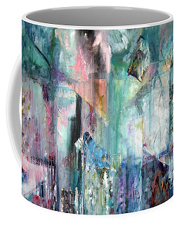 Coffee Mug featuring the painting Italy Experience by Jodie Marie Anne Richardson Traugott          aka jm-ART