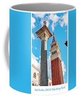 Italy Pavilion, Epcot, Walt Disney World Coffee Mug by A Gurmankin
