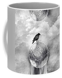 It's A Crow's World Coffee Mug