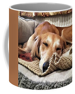 It's Been A Hard Day...  #saluki Coffee Mug