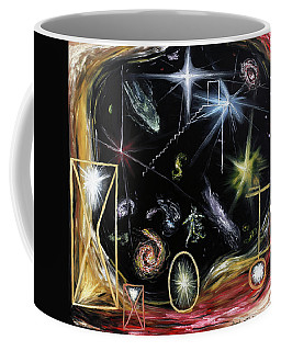 Coffee Mug featuring the painting It's Full Of Stars  by Ryan Demaree