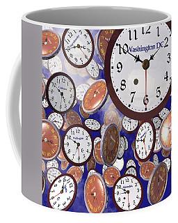 It's Raining Clocks - Washington D. C. Coffee Mug