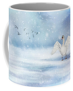 It's Snowing Coffee Mug