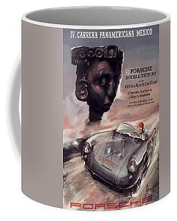 Iv Carrera Panamericana Porsche Poster Coffee Mug