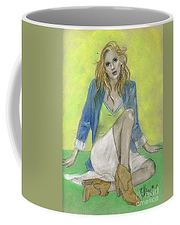 I've Fallen But I Can Get Up. Coffee Mug by P J Lewis