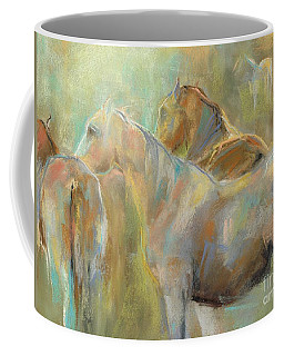 Coffee Mug featuring the painting I've Got This by Frances Marino